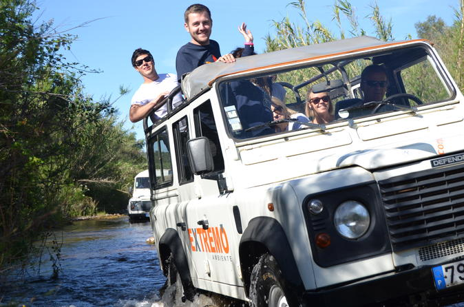 Half day algarve jeep safari in albufeira 236303