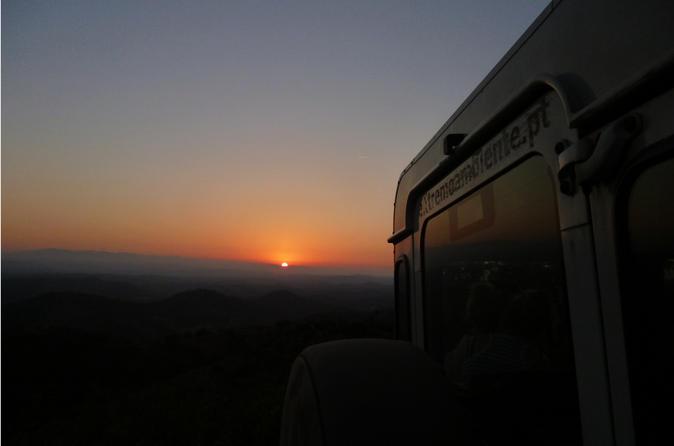 Safári de jipe no pôr do sol do Algarve