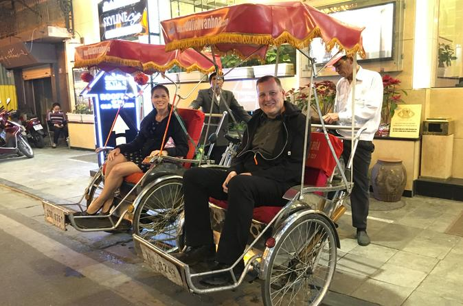 Hanoi Cyclo City Tour Including Water Puppet Show and Hotel Pickup