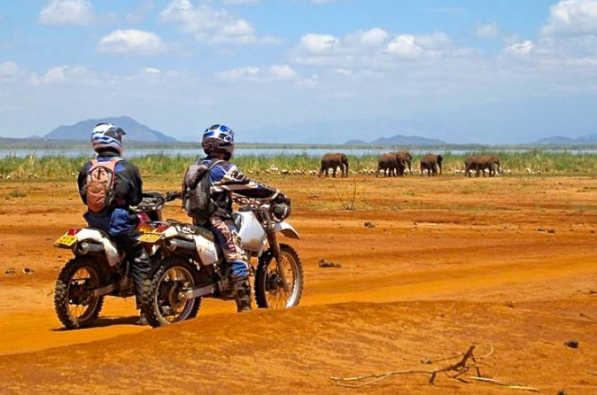 10 Day South Kenya Tour by Off Road Motorcycle