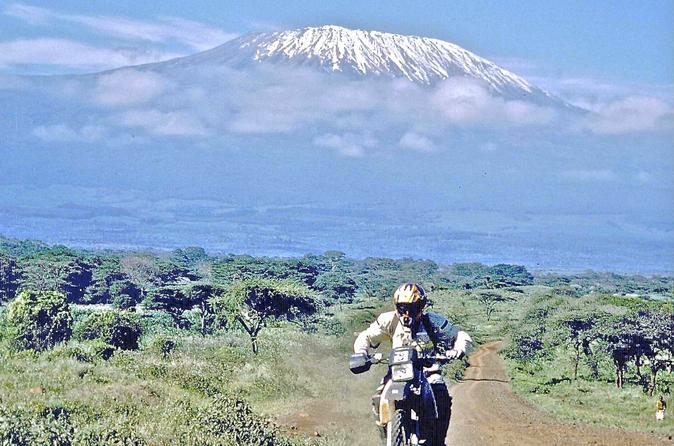 Small-group Southern Kenya Motorbike Tour from Nairobi