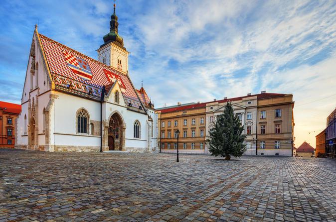 Excursão a pé privada da Alta Zagreb ou do centro de Zagreb