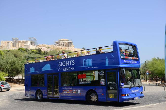 Excursão clássica com várias paradas por Atenas