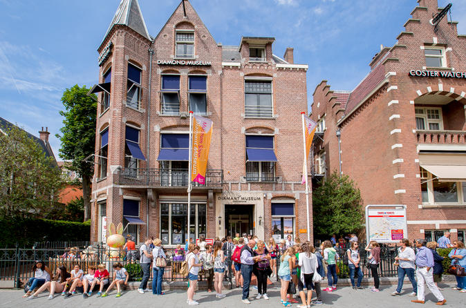 Evite as Filas: ingresso para o Museu dos Diamantes de Amsterdã