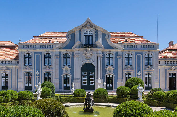 Queluz Royal Palace, Mafra Royal Palace and Convent Private Tour from Lisbon