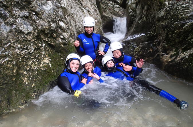 Exclusive Bled Lake Canyoning Adventure