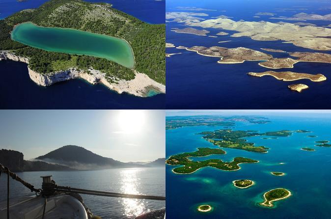 Viagem de dia inteiro particular pelo Parque Nacional de Kornati partindo de Zadar
