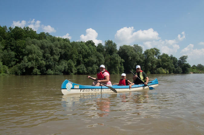 Canoe day tour on mures river from arad in arad 290623
