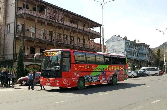 Hop on hop off bus tbilisi and mtskheta city tour in tbilisi 203394