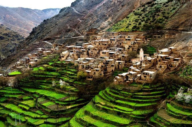 Viagem diurna pelas Montanhas Atlas e vilas berberes saindo de Marraquexe