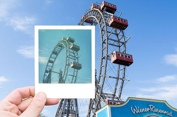 Polaroid Photo Tour in Vienna's Prater