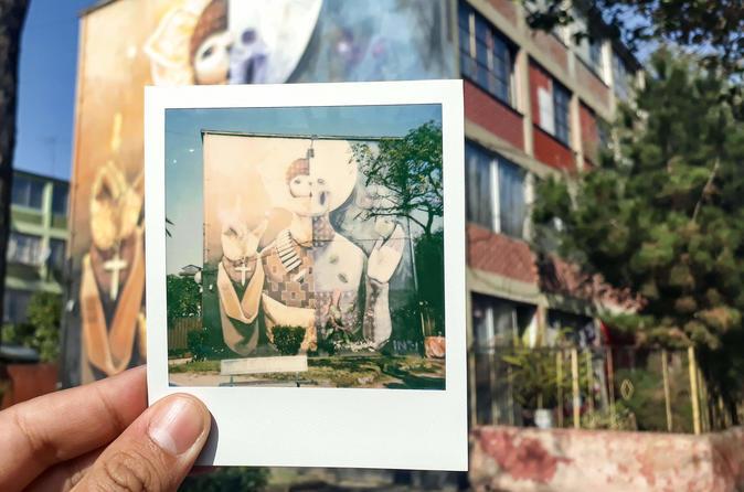 Santiago Off the Beaten Path Polaroid Photo Tour