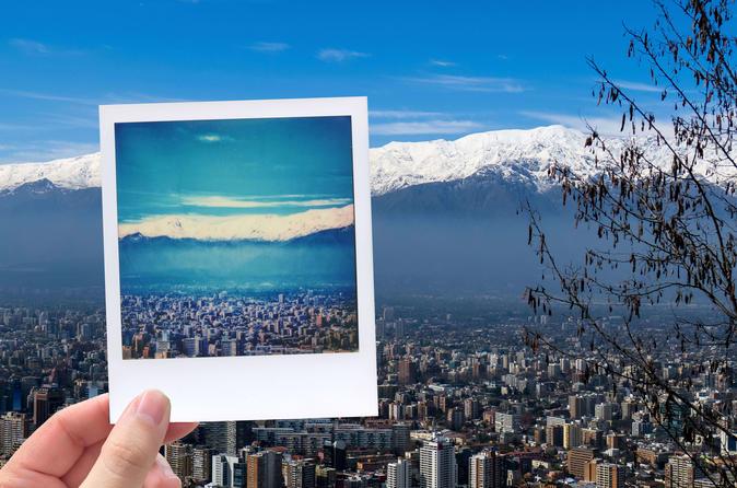 Santiago Vintage Photo Tour With a Polaroid Camera