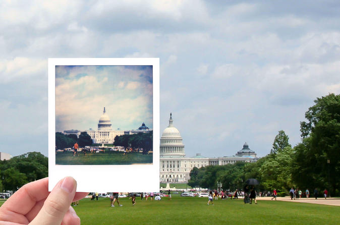 Washington DC Vintage Photo Tour With a Polaroid Camera