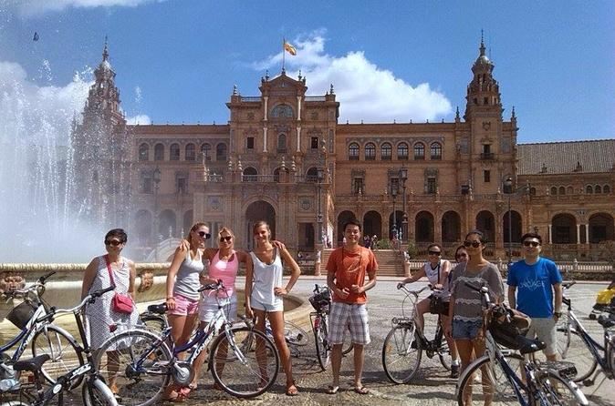 Seville highlights bike tour in seville 296361