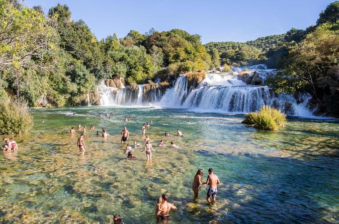 Krka Waterfalls National Park & Trogir - Split