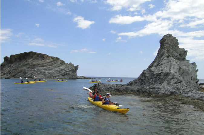 Eco kayak trip llanca costa brava in llan 190846