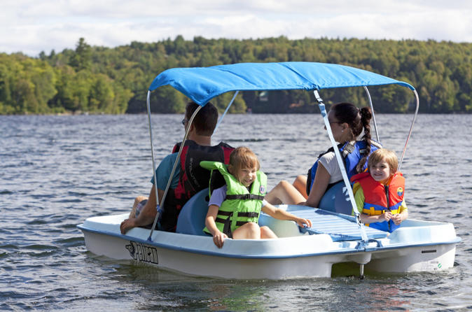 Paddle Boat Rental on Lake Fairview (Orlando)