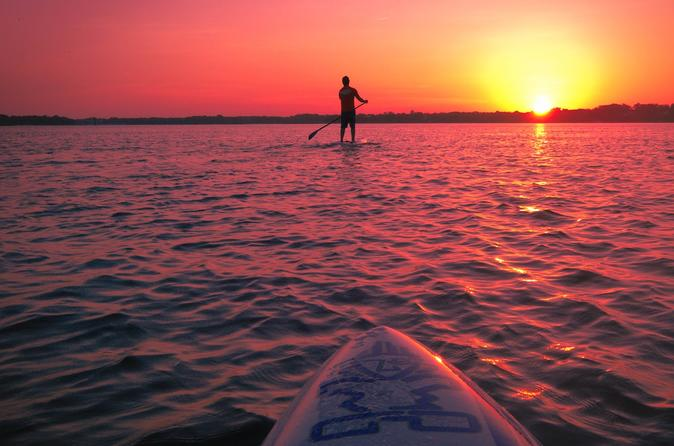 Sunrise Paddle with BREAKFAST included (KAYAK or PADDLE BOARD)