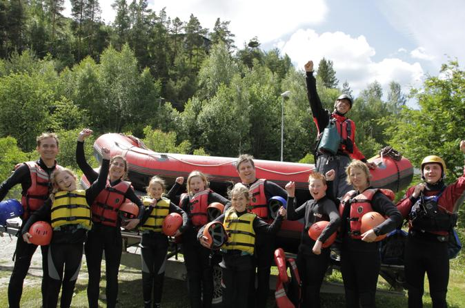 Family Rafting Experience on River Otta