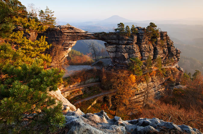 Small-Group Bohemian and Saxon Switzerland National Park Day Trip from Prague