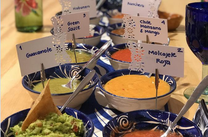 Mastering Mexican Salsas Cooking Class
