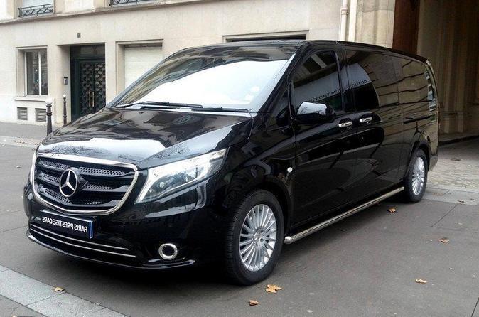 Paris Private Transfers from Airport ORY to Parc Disneyland in Luxury Van