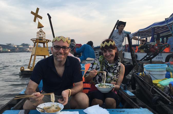 Cai Rang floating market and  Cycling