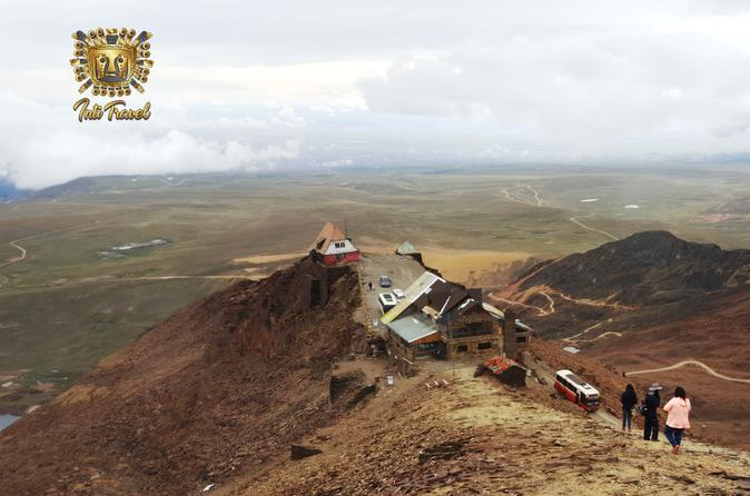 Moon Valley and Chacaltaya Mountain - Shared Service