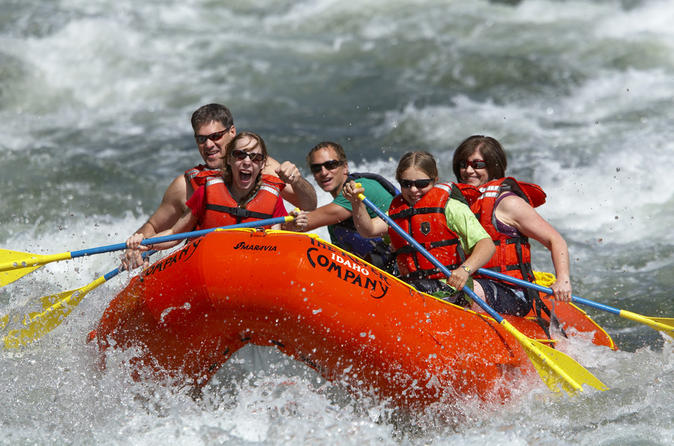 Sun valley half day rafting trip in sun valley 186426