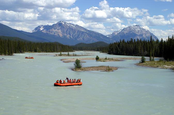 Athabasca river scenic float trip in jasper 231447