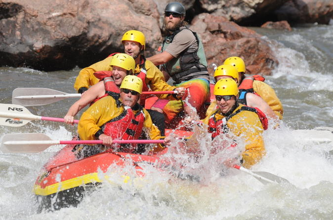 Royal gorge whitewater rafting with riverside lunch in ca on city 214093