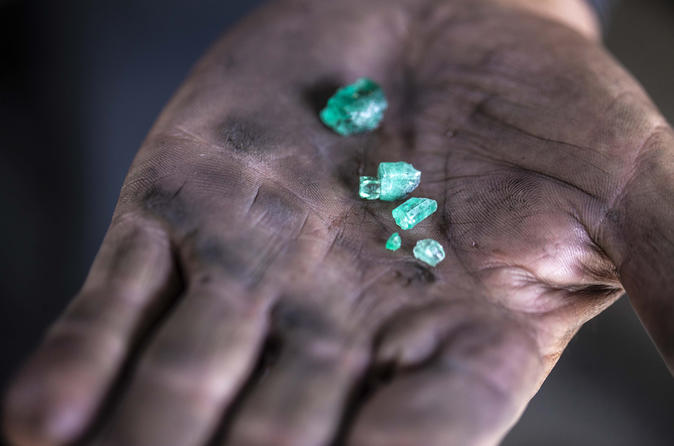 Emerald Mining in Colombia Photography Tour