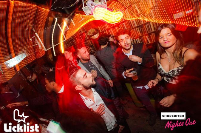 New Year's Eve Pub Crawl in Shoreditch