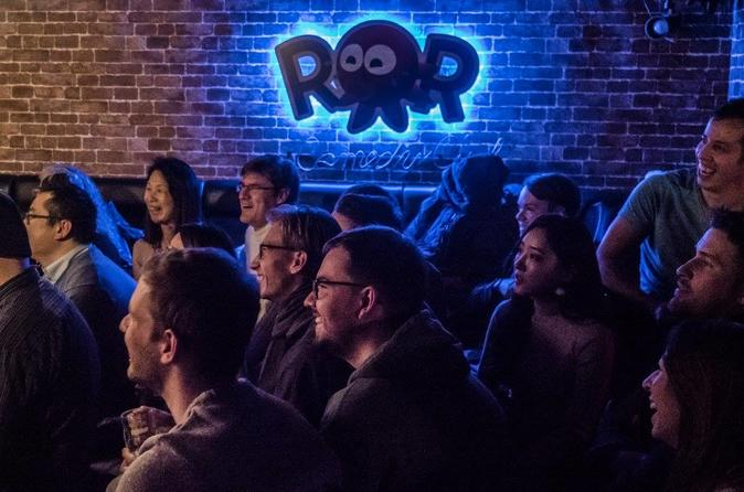 English-language comedy show at ROR Comedy Club