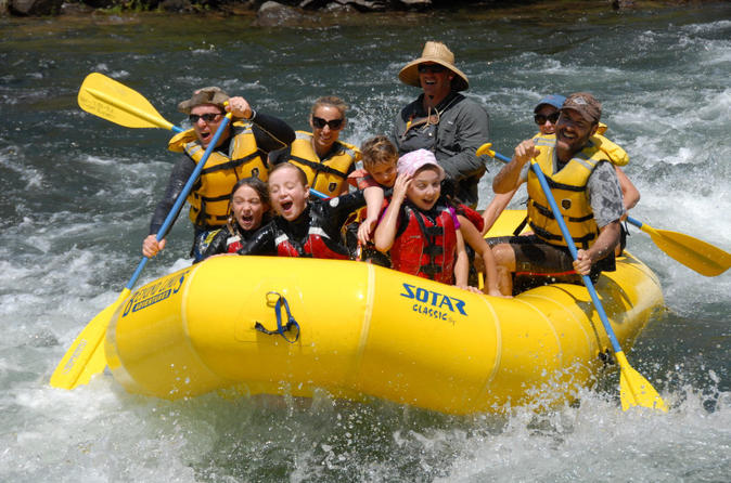 Full-Day Whitewater Rafting on the South Fork American River