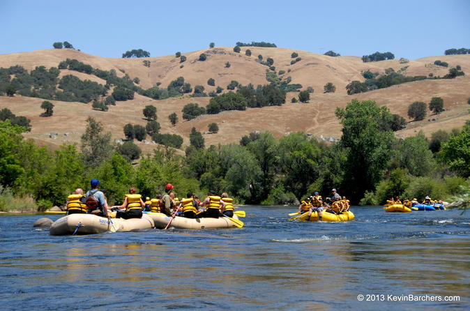 Two day whitewater rafting trip on the south fork american river in coloma 187614