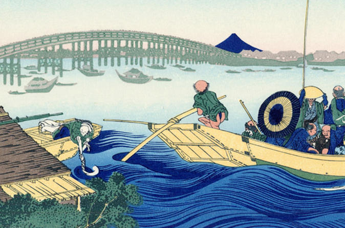 Private Tour - Hokusai's Art and the Locations He Painted