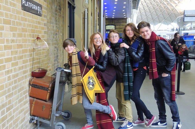 Harry Potter Magical London Walking Tour with Kings Cross Platform Visit in London