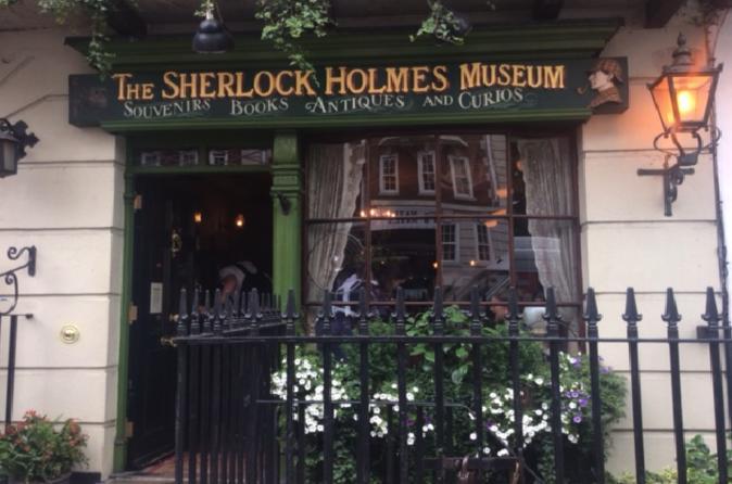 Excursão a pé particular temática do Sherlock Holmes em Londres