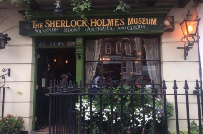 Private Sherlock Holmes Walking Tour in London