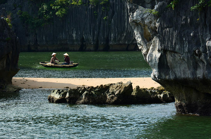 Lan Ha Bay Full Day Kayaking visit Lan Ha Bay and Halong Bay
