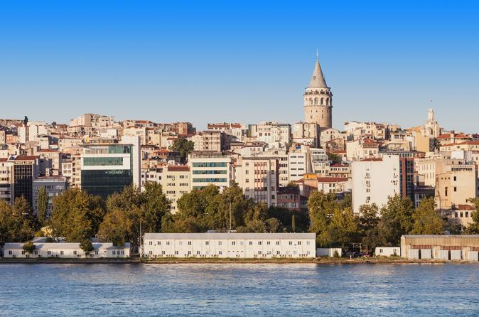 Half Day Private Istanbul Bosphorus Cruise Tour with Cable Car and Golden Horn