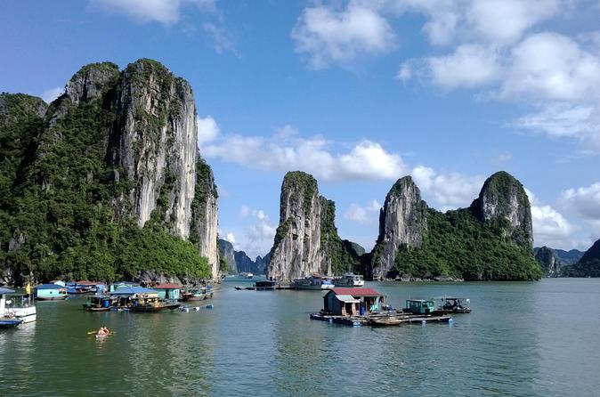 Viagem de dia inteiro para a Baía de Halong