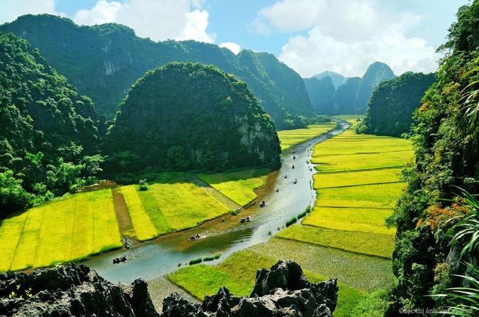 Viagem diurna de barco e bicicleta para Hoa Lu e Tam Coc saindo de Hanói