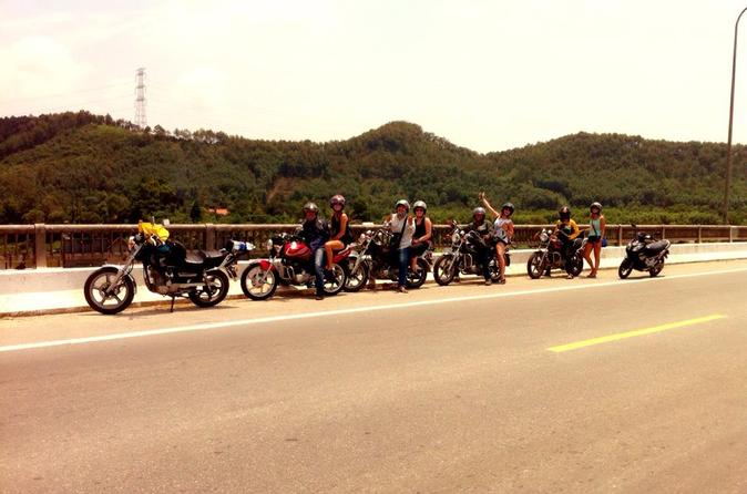 Transfer from Hue to Hoi An by Motorbike