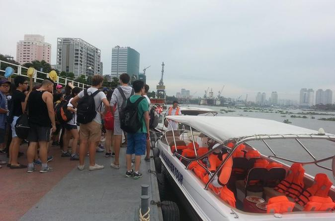 Half-Day Cu Chi Tunnels by Speedboat from Ho Chi Minh