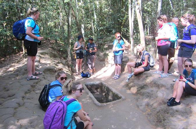 Small-Group Half-Day Cu Chi Tunnels Tour from Ho Chi Minh City