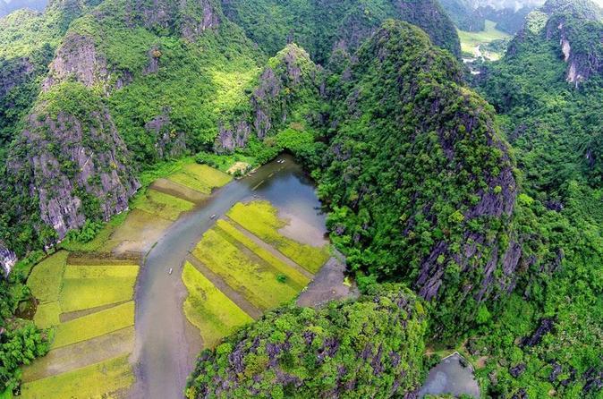 Ninh Binh-Trang An-Kong Skull Island-Bai Dinh Pagoda Full Day From Hanoi