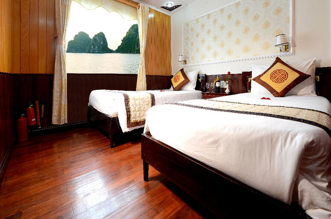 2-Day Halong Bay Imperial Legend Cruise from Hanoi